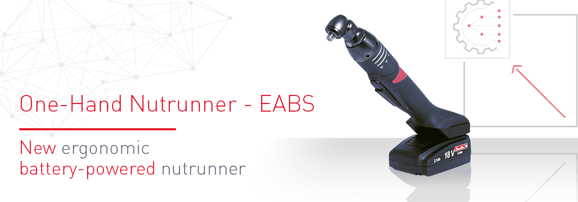Novi ergonomični akumulatorski vijačnik za matice: EABS
