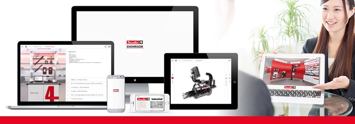 Prenesite aplikacijo Showroom in prek fotografij in videoposnetkov spoznajte vse naše rešitve za sestavljanje in vrtanje. Družba Desoutter vas vedno spremlja, tudi kadar niste povezani s spletom.
