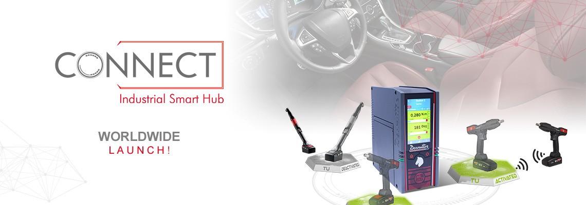 Ponosno vam predstavljamo novo pametno središče za industrijo CONNECT: rešitev Desoutter 4.0!
