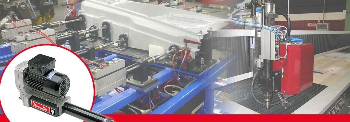 Desoutter Tools izdeluje tudi vrtalnike s samodejnim pomikom in stroje za vrezovanje navojev, ki jih lahko zelo preprosto vgradite v stroj ali proizvodni postopek. Učinkovitost in modularna zasnova. Zaprosite za ponudbo.