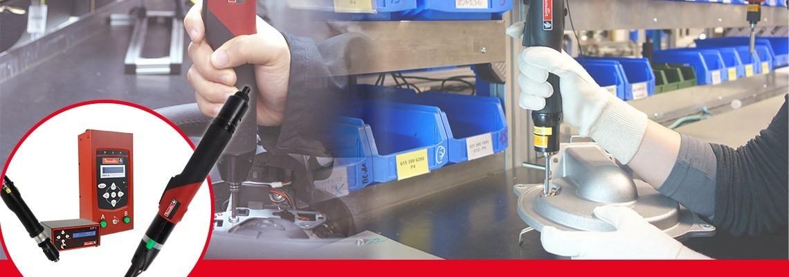 Spoznajte programa orodja SLBN in SLC družbe Desoutter Industrial Tools. Dva celovita programa električnih izvijačev za visoko učinkovitost.