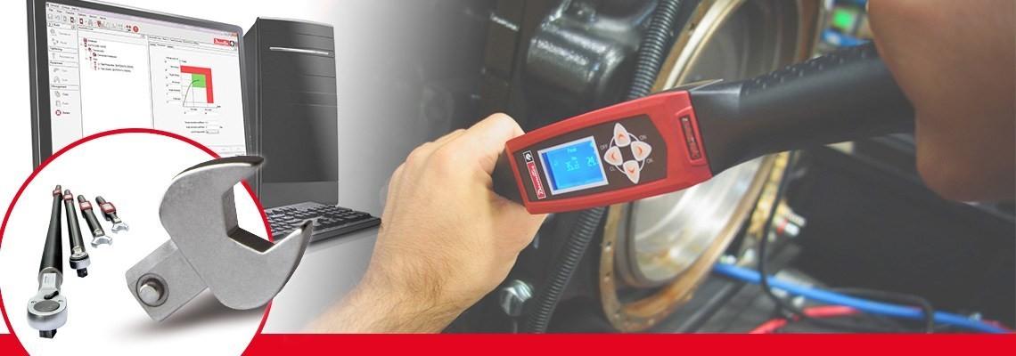 Spoznajte celoviti program dodatna opreme za sistem za merjenje navora družbe Desoutter Industrial Tools za avtomobilsko in letalsko industrijo. Zasnovano za kakovost in učinkovitost.