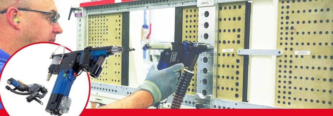 Pnevmatske napredne vrtalne enote programa izdelkov SETITEC Line so namenjene za polsamodejne postopke vrtanja na opremi sestavov za letala.