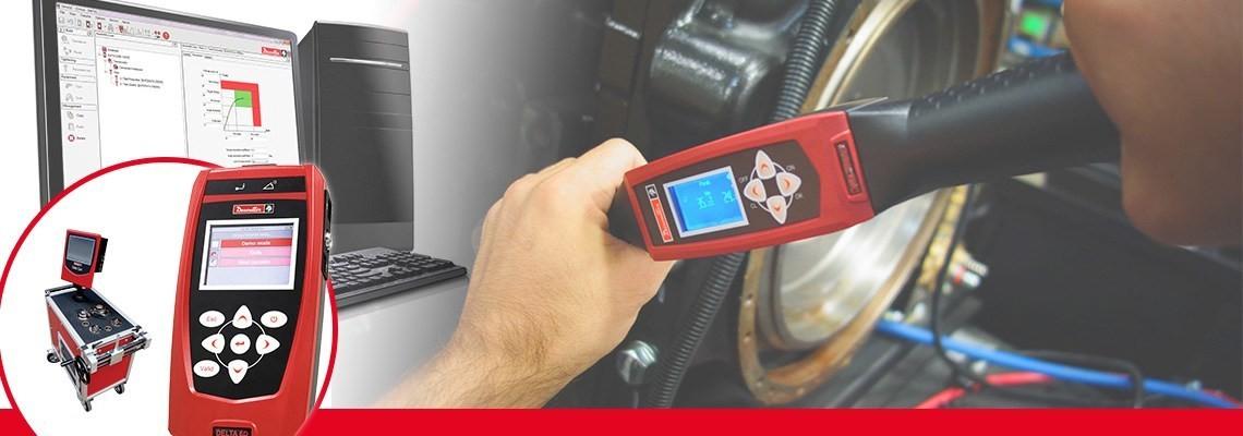 Spoznajte merjenje navora električnega in pnevmatskega orodja s sistemi družbe Desoutter Tools, ki omogočajo popolno sledljivost in zagotavljajo natančnost.