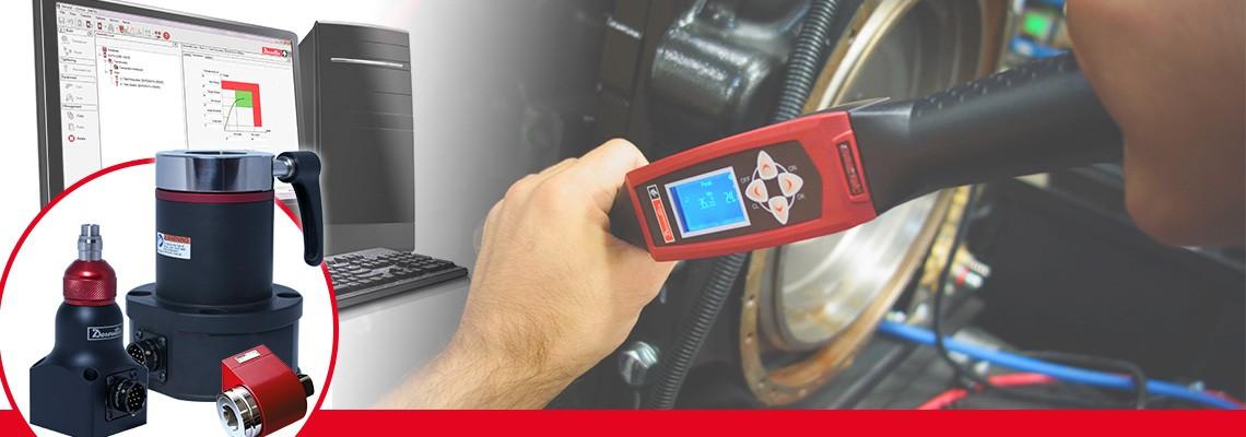 Družba Desoutter Industrial Tools je zasnovala celovit program rotacijskih pretvornikov navora za merjenje izhodnega navora vsakega neudarnega orodja za sestavljanje.