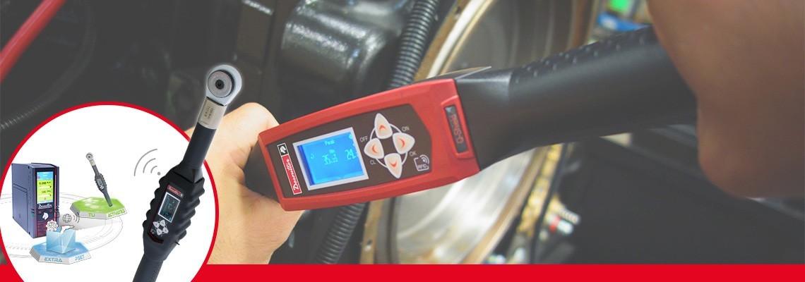 iščete orodje, ki združuje učinkovitost in kakovost? Spoznajte digitalne momentne ključe družbe Desoutter Tools za nadzorovano privijanje spojev.