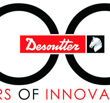 Logotip 100-letnice družbe Desoutter