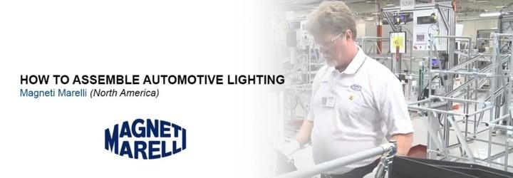 Kako družba Magneti Marelli proizvaja svetila za avtomobilsko industrijo?